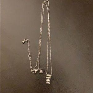 💫- 2/$20-Banana Republic silver fashion necklace